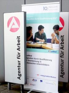 Das Programm IQuaMed zu Gast bei der Arbeitsagentur Bielefeld
