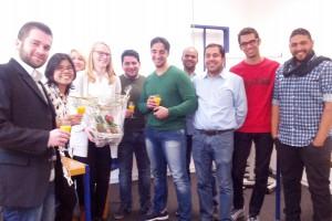 Absolventinnen und Absolventen des Praxisseminars Humanmedizin im mibeg-Institut Medizin