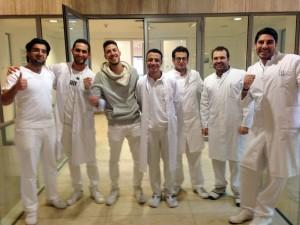 Ärzte, die erfolgreich einen Fachsprachkurs des Programms IQuaMed absolviert haben