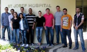 Ärztinnen und Ärzte des Praxisseminars Humanmedizin in Bad Driburg