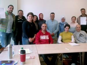 Ärztinnen und Ärzte bereiten sich im Ruhrgebiet auf die Fachsprachprüfung vor