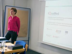 Sabine Martin, Wissenschaftlicher Beirat des Projekts IQuaMed