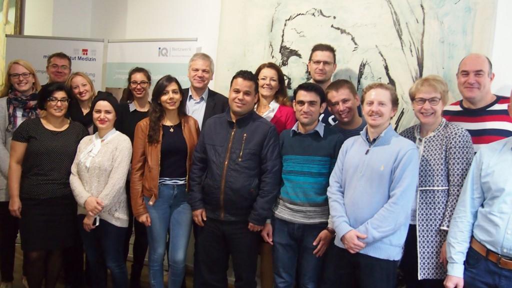 Eröffnung des Intensivkurses Fachsprache Medizin in Kooperation mit dem Marburger Bund Landesverband NRW / RLP