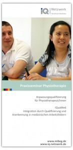 Flyer Praxisseminar Physiotherapie