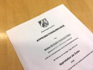 Qualifizierung für Klinik und Praxis: Approbation erlangt