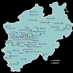 Das Projekt IQuaMed in Nordrhein-Westfalen 2018