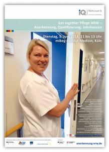 Get together Pflege: Anerkennung, Qualifizierung, Jobchancen – 5. Juni 2018