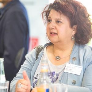 Anita Paluszek, Jobcenter Rhein-Berg, im mibeg-Institut Medizin, Foto: Kai Funck
