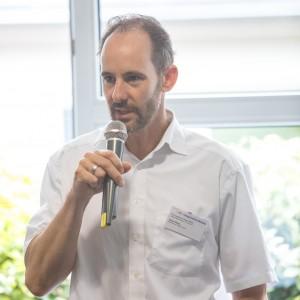 Daniel Weber, Kreisklinikum Siegen, im mibeg-Institut Medizin, Foto: Kai Funck