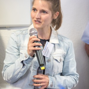 Jenny Kaczmarczyk, Netzwerk Lippe, Detmold, im mibeg-Institut Medizin, Foto: Kai Funck