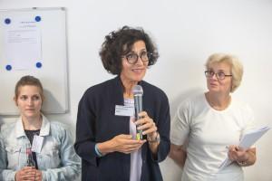Vera Lux, Pflegedirektorin, Vorstand Uniklinik Köln, im mibeg-Institut Medizin, Foto: Kai Funck