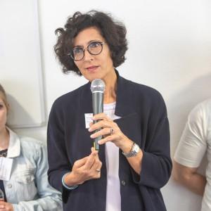 Vera Lux, Pflegedirektorin, Vorstand, Uniklinik Köln, im mibeg-Institut Medizin, Foto: Kai Funck