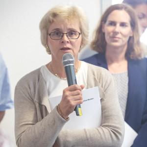 Dr. Nada Ralic, Diakonie Düsseldorf, im mibeg-Institut Medizin, Foto: Kai Funck