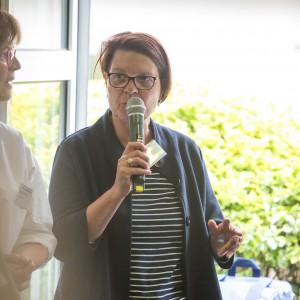 Petra Krause, Leitung der Gesundheitsschulen, Evangelisches Klinikum Bethel, im mibeg-Institut Medizin, Foto: Kai Funck