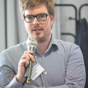 Lukas Schmülling, Dezernent Landesprüfungsamt für Medizin, Psychotherapie und Pharmazie NRW, im mibeg-Institut Medizin, Foto: Kai Funck
