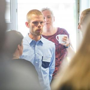 Sebastian Riebandt, Welcome@Healthcare, im mibeg-Institut Medizin, Foto: Kai Funck