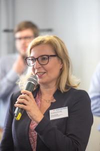 Ulrike Steinecke, ZAB Gütersloh, im mibeg-Institut Medizin, Foto: Kai Funck