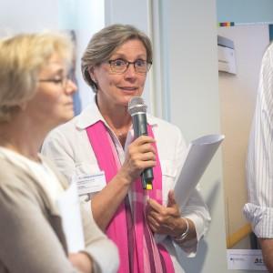Ursula Berg, Pflegedirektion St. Elisabeth Krankenhaus Köln-Hohenlind, im mibeg-Institut Medizin, Foto: Kai Funck
