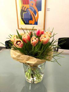 Blumen für Manuela Bellarosa